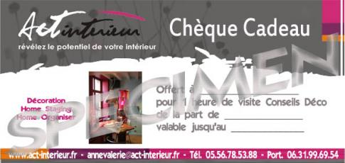 Prestation decoration ch que cadeau act 39 int rieur for Cadeau decoration interieur