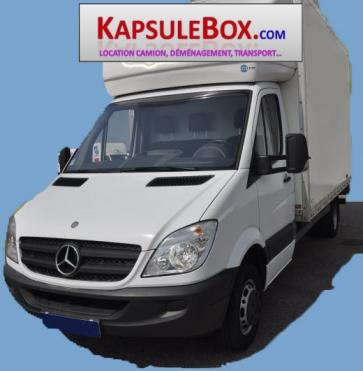 prestation d m nagement transport location camion chauffeur kapsulebox d m nagement et transport. Black Bedroom Furniture Sets. Home Design Ideas