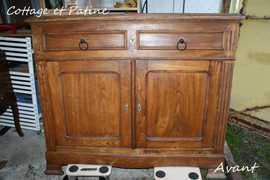 relooking et transformation de meubles anciens r alis par cottage et patine relooking de. Black Bedroom Furniture Sets. Home Design Ideas